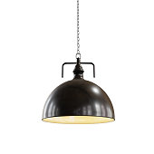 Ceiling or hanging lamp for interior decoration with clipping path.3d rendering.