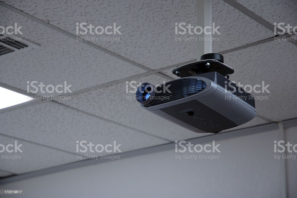 ceiling projector royalty-free stock photo