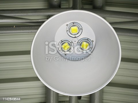 182889461 istock photo LED Ceiling with lamps 1142849544