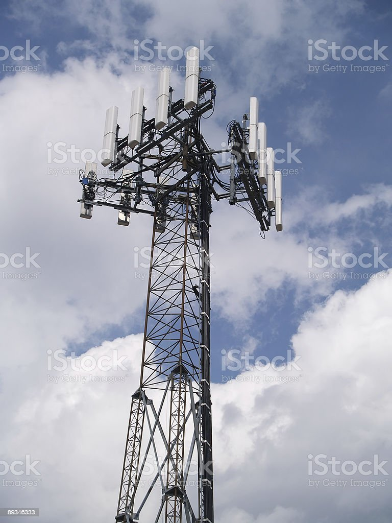 Cel phone Antenna stock photo