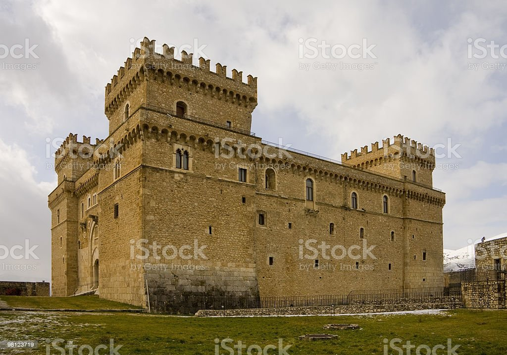 Celano Castle royalty-free stock photo