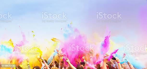 Celebrants dancing during the color holi festival picture id518820132?b=1&k=6&m=518820132&s=612x612&h=l8p5jeue2pjdylv7lfm37bxu c84ogr8ik6swjsjqyc=