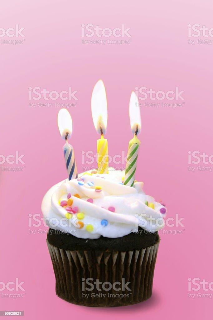 Celebrate a Pink Birthday royalty-free stock photo