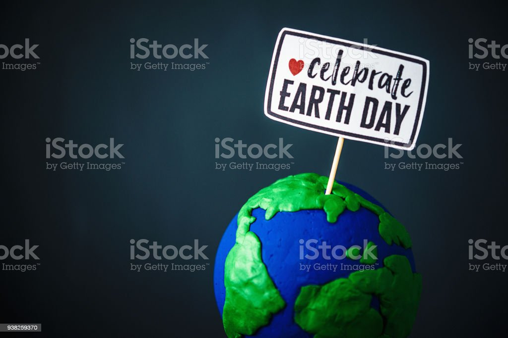 Celebrate Earth Day stock photo