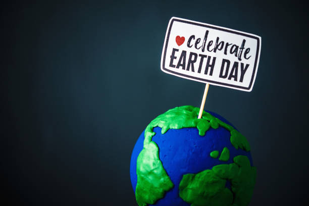 celebrate earth day - earth day stock pictures, royalty-free photos & images