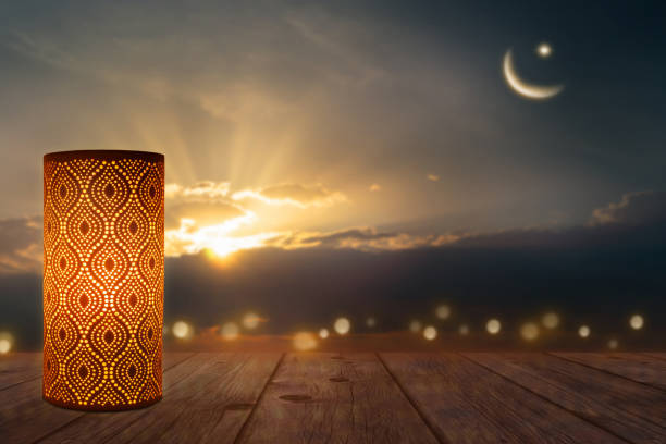 celebrate ramadan at the evening - eid stock pictures, royalty-free photos & images