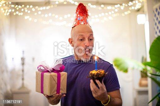 istock Celebrating birthday alone 1156712191