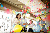 istock Celebrating birthday with confetti 1191790576