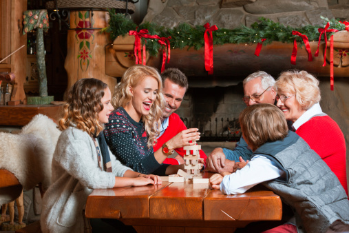 Celebrating Christmas Stock Photo - Download Image Now