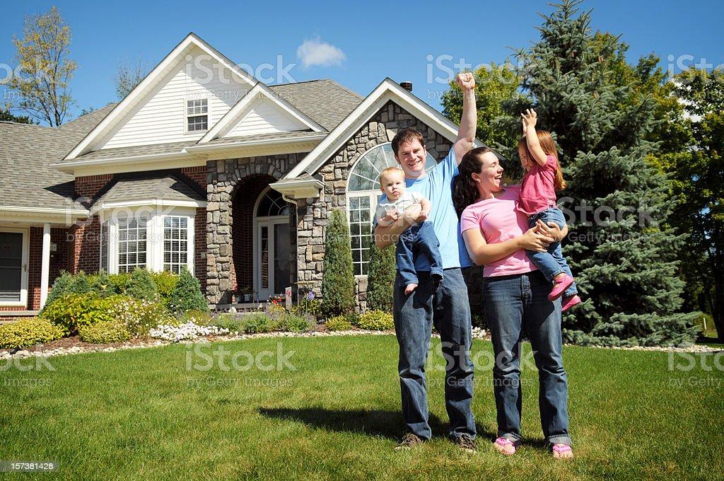Celebrating Family stock photo