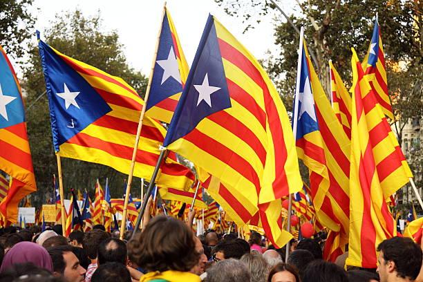 Celebrating National Day of Catalonia