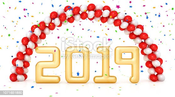 istock Celebrating New Year 2019 1071651850