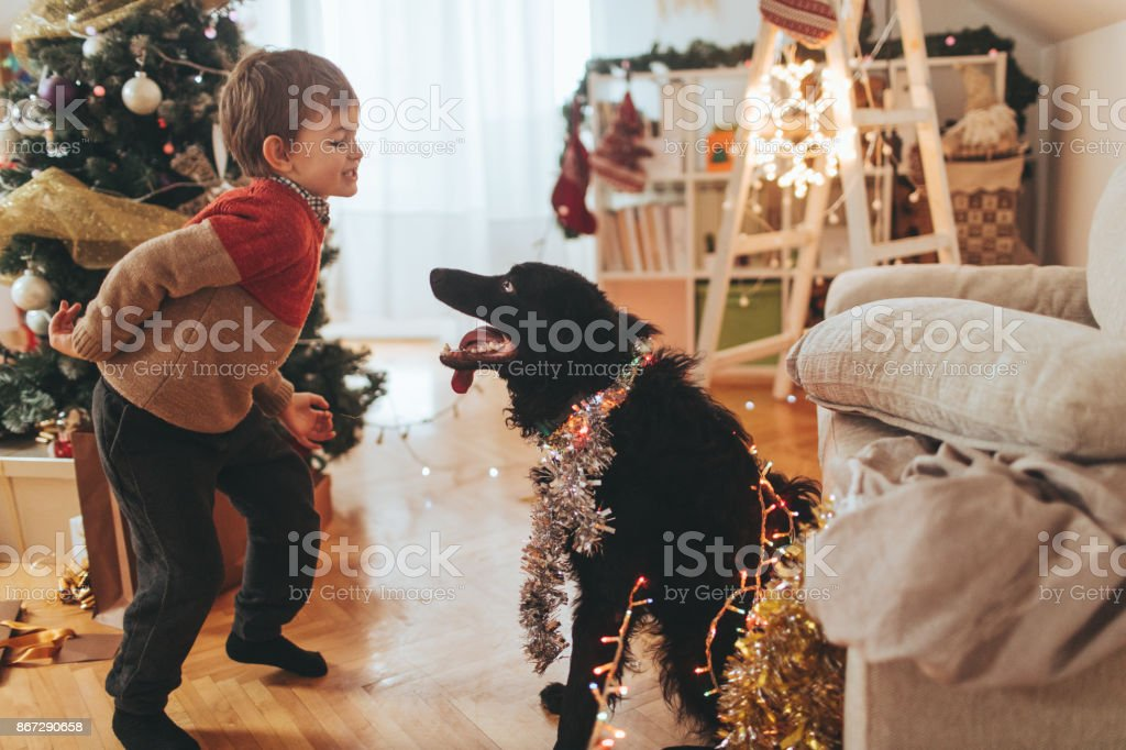 Celebrating New Year's Eve stock photo