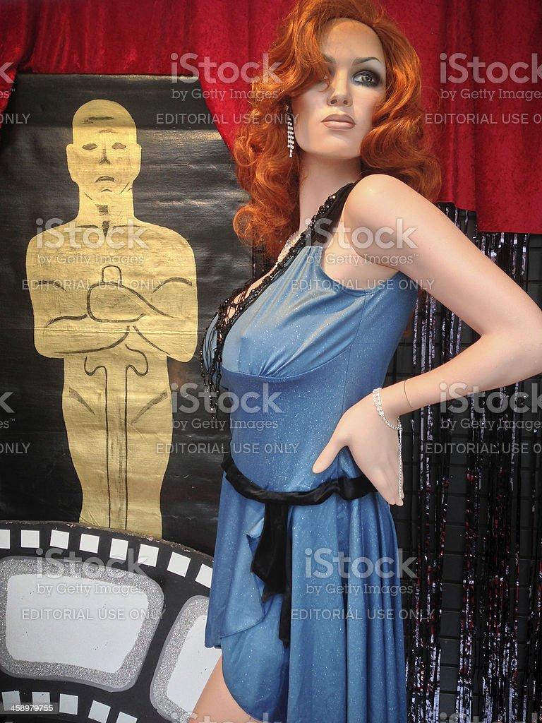 Celebrating Oscars in Toronto stock photo