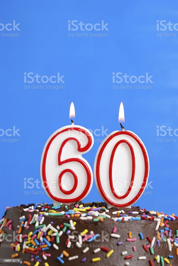 Celebrating Sixty Years stock photo