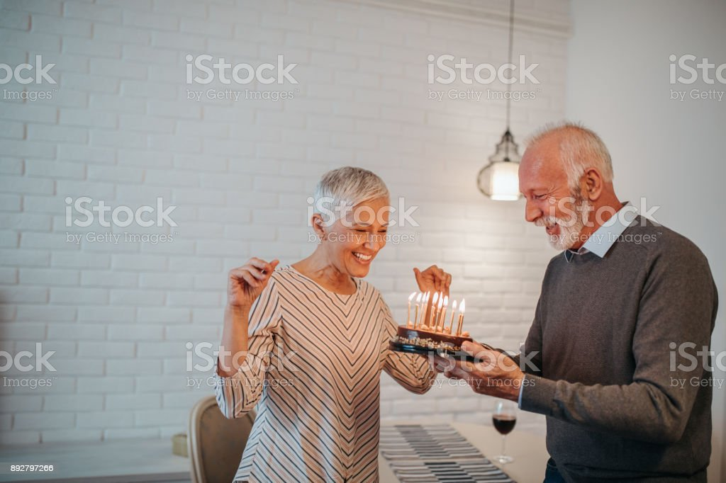 Celebrating special moments ! stock photo