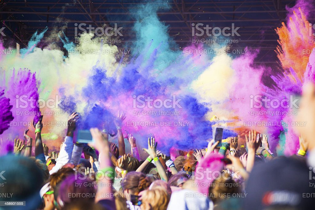 Anlässlich der Color Run 2012 in Nashville – Foto