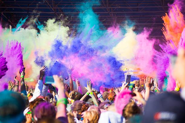 Anlässlich der Color Run 2012 in Nashville – Foto