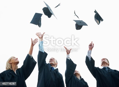 1009462356 istock photo Celebrating the start of their adult lives 452716287