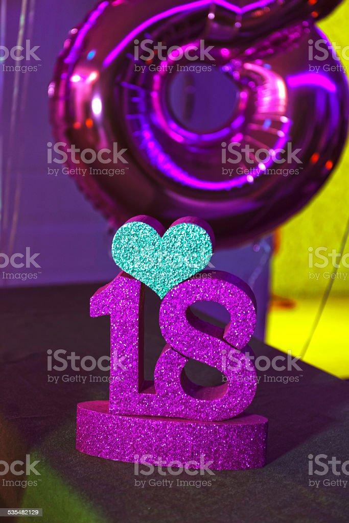 Celebração de 18 anos - foto de acervo