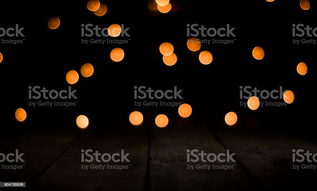celebration background with colorful yellow glows for display product and Graphics stock photo