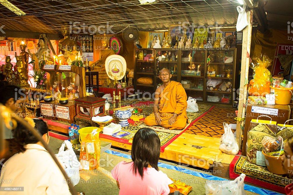 Celebration Buddhist festivals Chotrul Duchen royalty-free stock photo