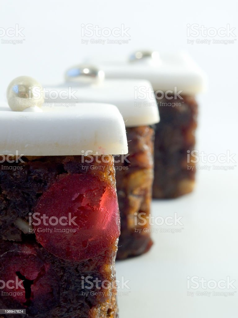 Celebration Cake Slices royalty-free stock photo
