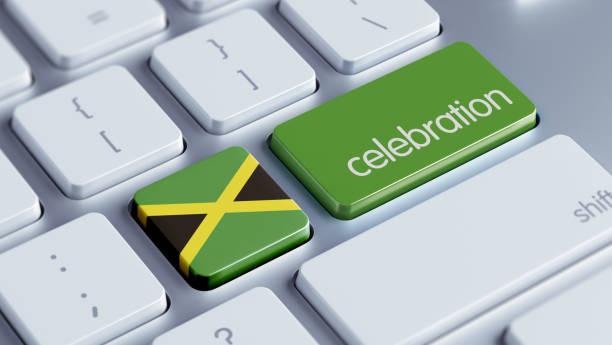 feier-konzept - jamaikanische party stock-fotos und bilder
