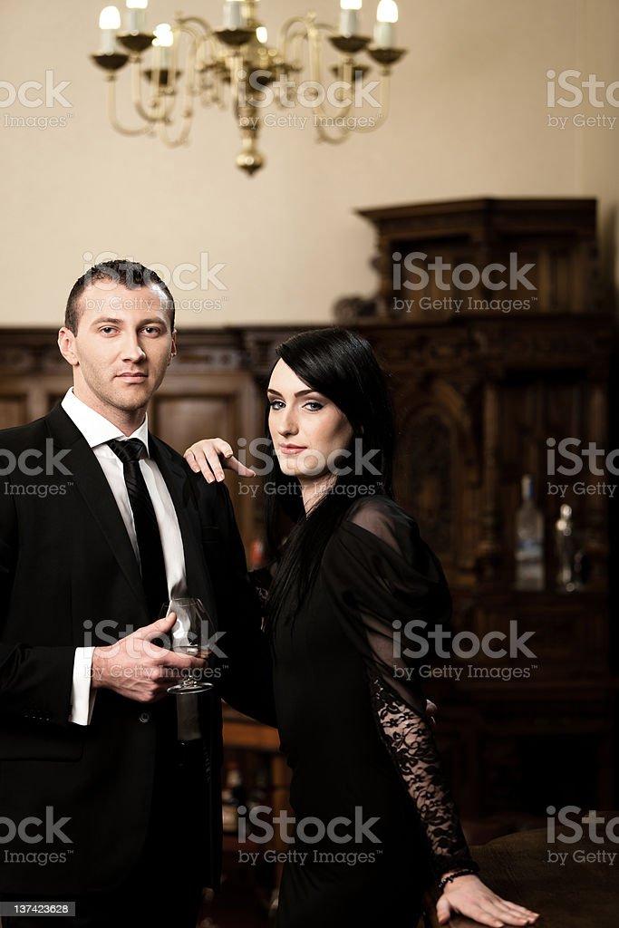Celebration Couple royalty-free stock photo
