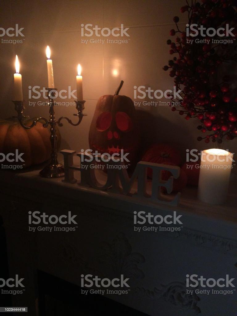 Decoração de festa Halloween Holiday - foto de acervo