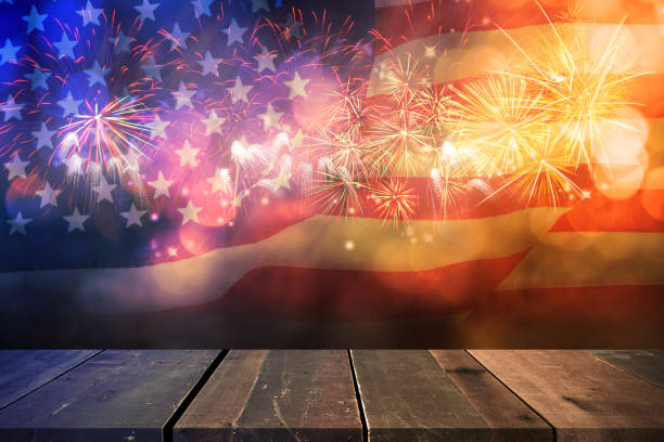 celebration for liberty. - july stock photos and pictures