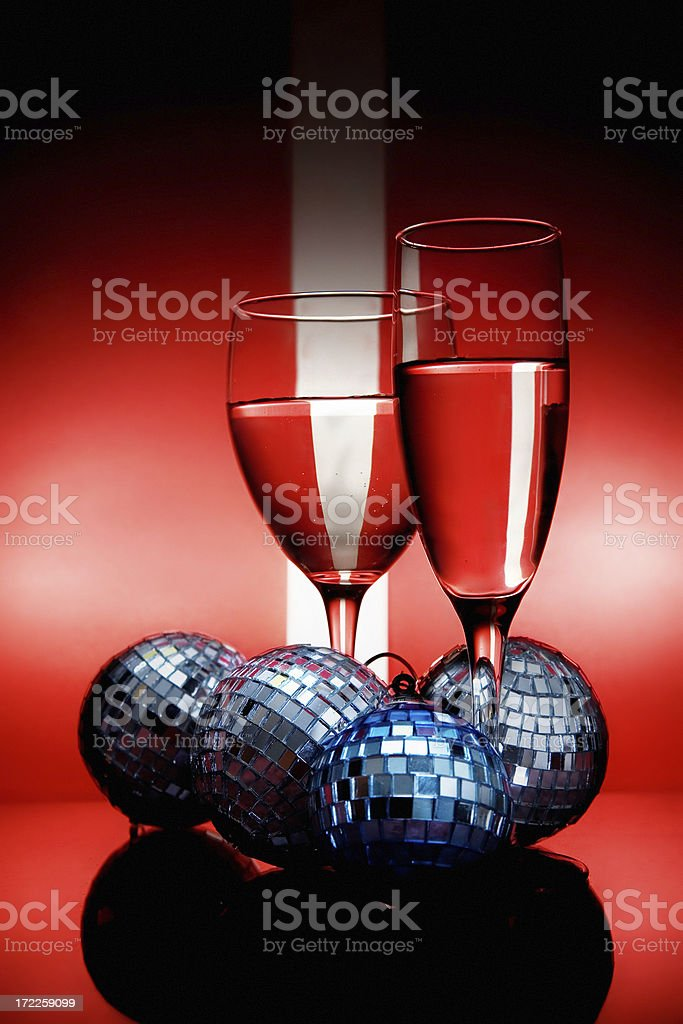 Celebration for two royalty-free stock photo