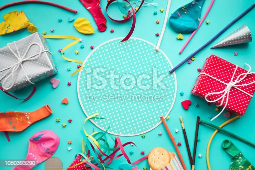 istock 2019 Celebration happy new year background concepts ideas with colorful elemen 1050393290