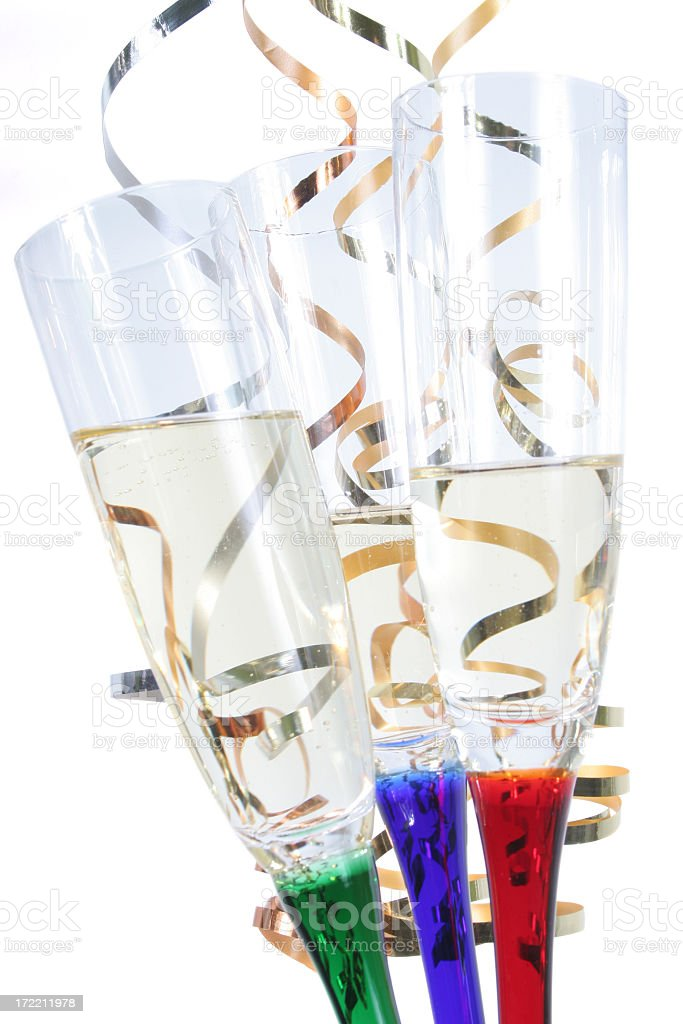 Celebration Happy new year royalty-free stock photo
