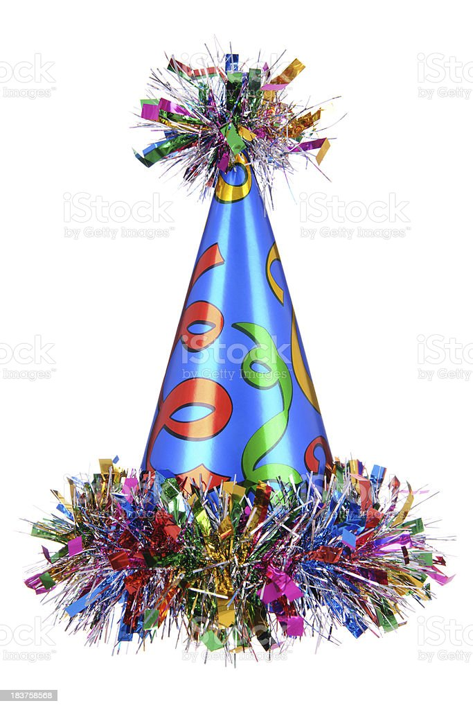 Celebration Hat stock photo
