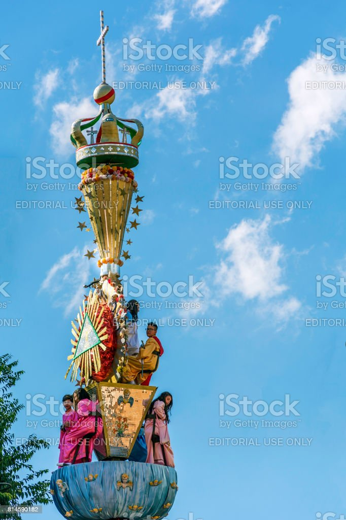 Celebration In Honor Of Mary Ss Assumption In Randazzo Sicily Italy Stock Photo Download Image Now Istock