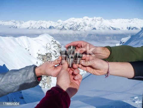 istock Celebration in mountains 178864004