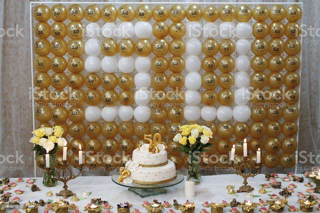 Feier von 50 Jahren 2354 - Lizenzfrei 2015 Stock-Foto