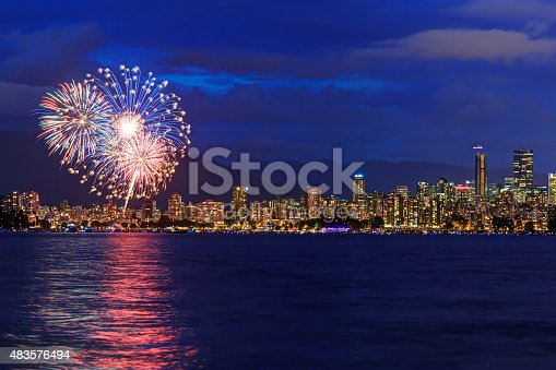istock Celebration of Light - Fireworks Competition 483576494