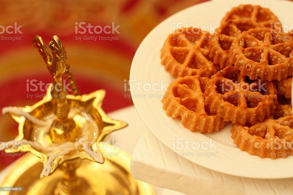 Celebration of  Sinhalese New Year stock photo