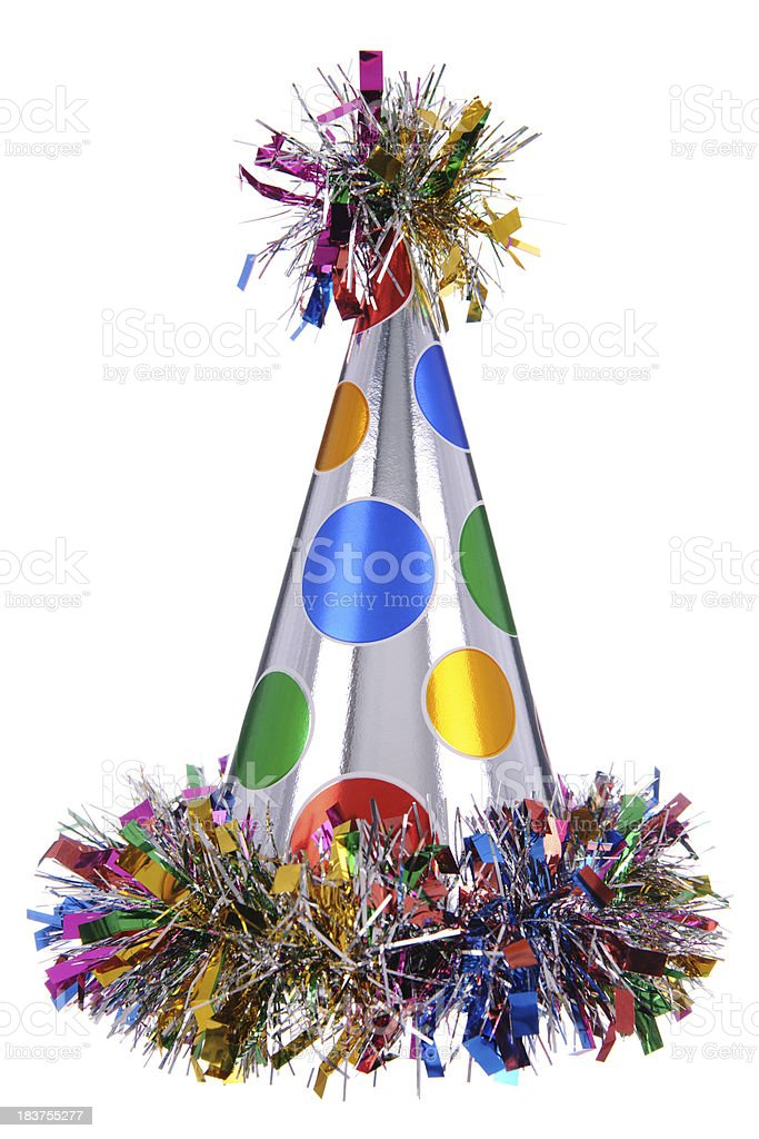 Celebration Party Hat stock photo