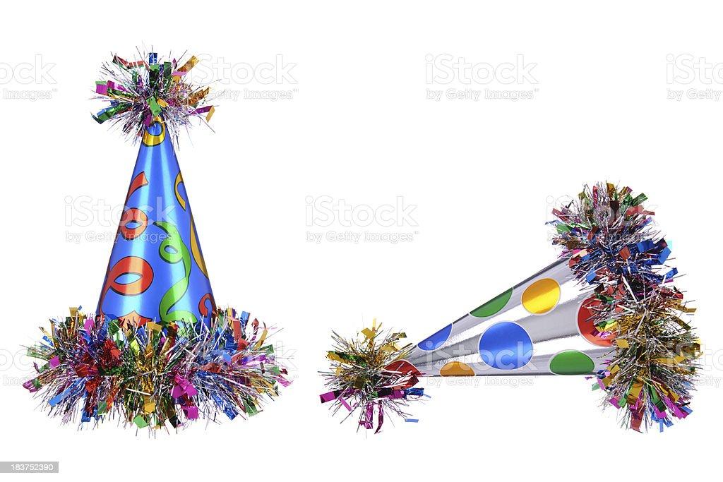 Celebration Party Hats royalty-free stock photo