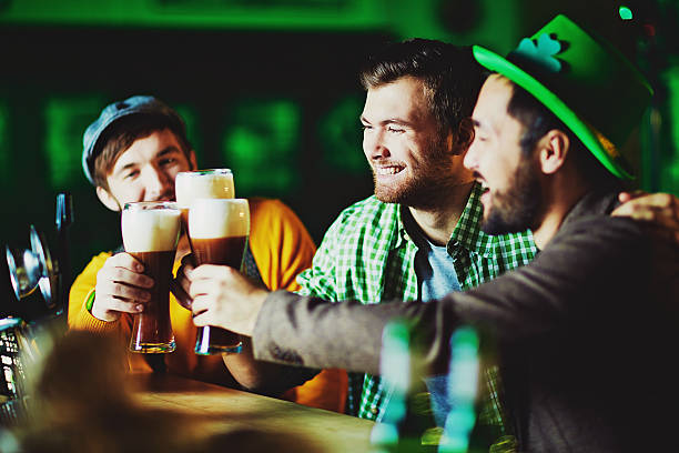celebration - st patricks day stock photos and pictures