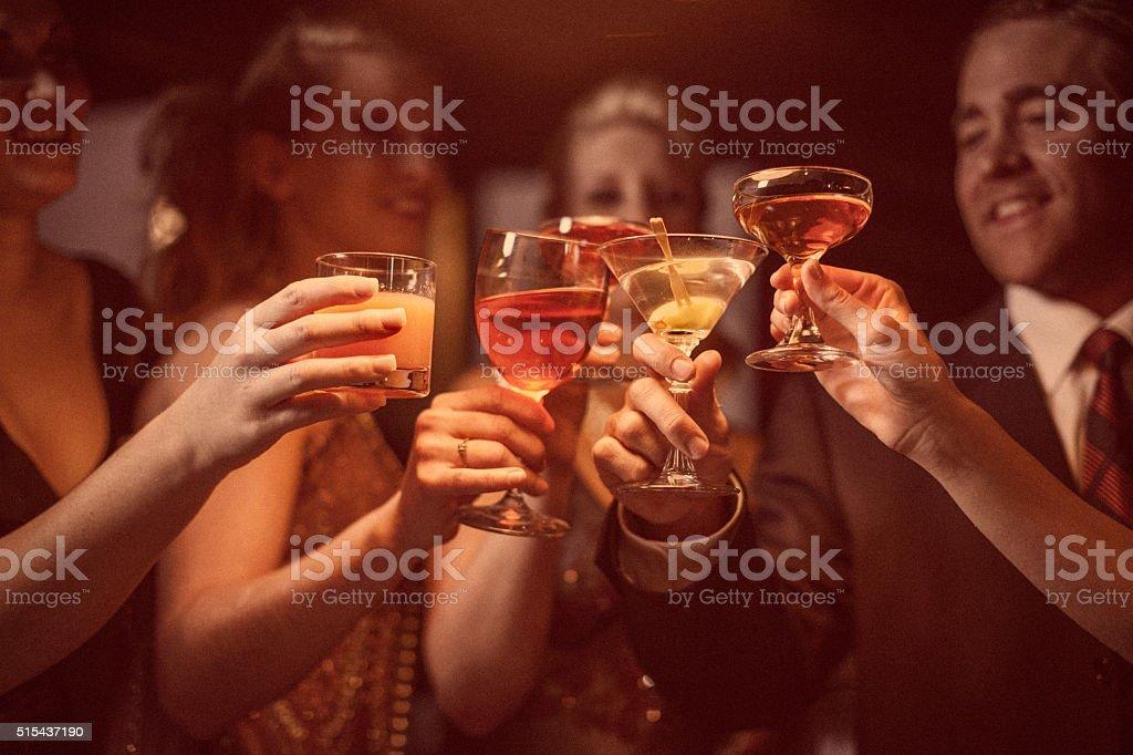 お祝い - 5人のロイヤリティフリーストックフォト