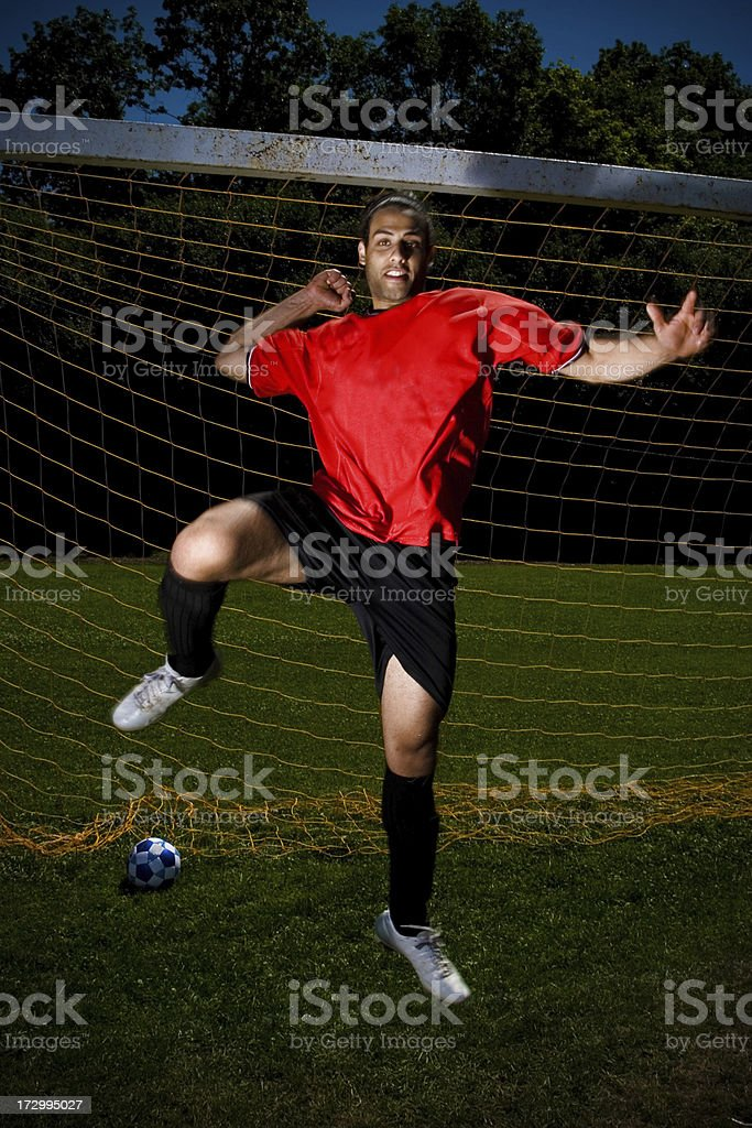 Celebration - Soccer series royalty-free stock photo
