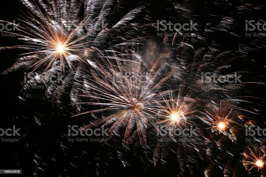 celebration sparkling fireworks explosion royalty-free stock photo