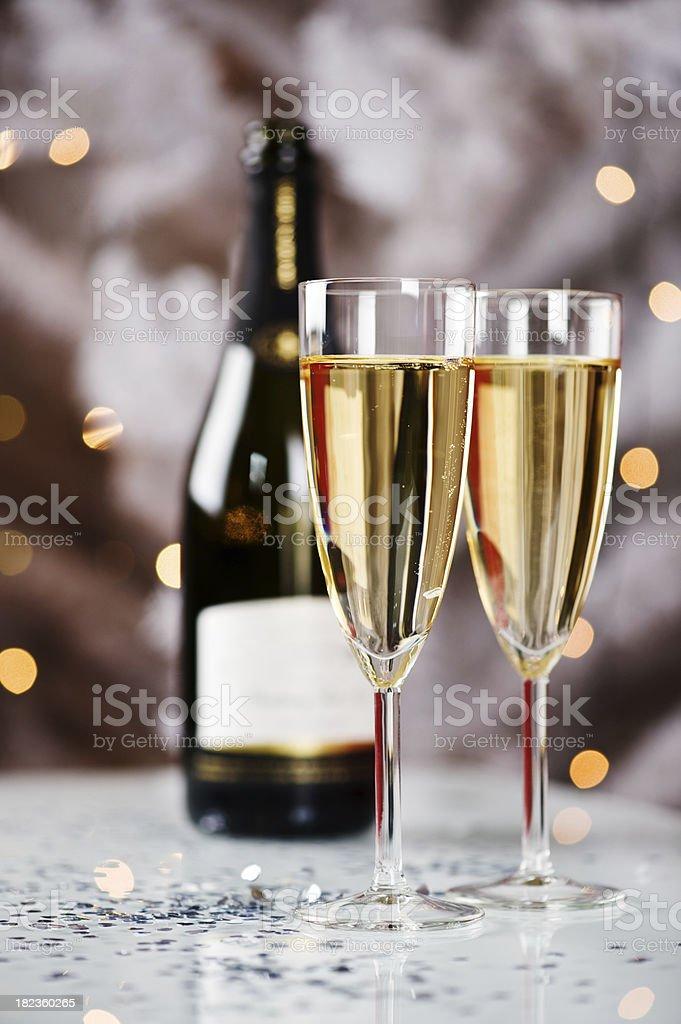 Celebration still life - Champagne royalty-free stock photo