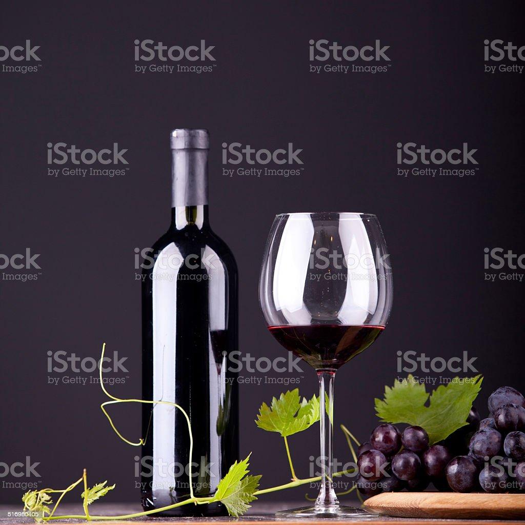 Celebration table with traditional setup stock photo