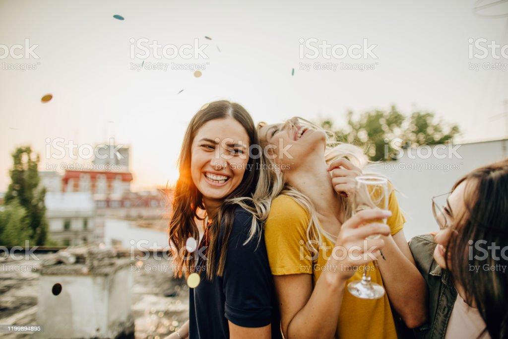 Feierzeit - Lizenzfrei Alkoholisches Getränk Stock-Foto
