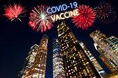 Celebrations for new vaccine against coronavirus